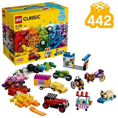 LEGO Classic 10715 ladrillos sobre ruedas