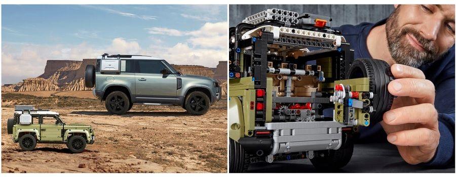 Land Rover Defender LEGO 42110