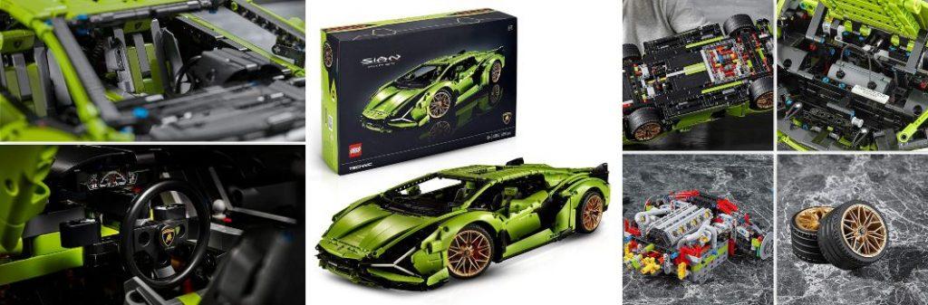 2020 LEGO Lamborghini Sian FKP 37 Technic 42215