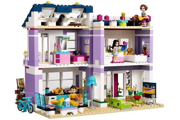 LEGO Friends la casa de Emma 41095