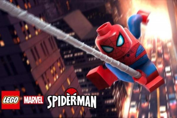 lego spiderman marvel