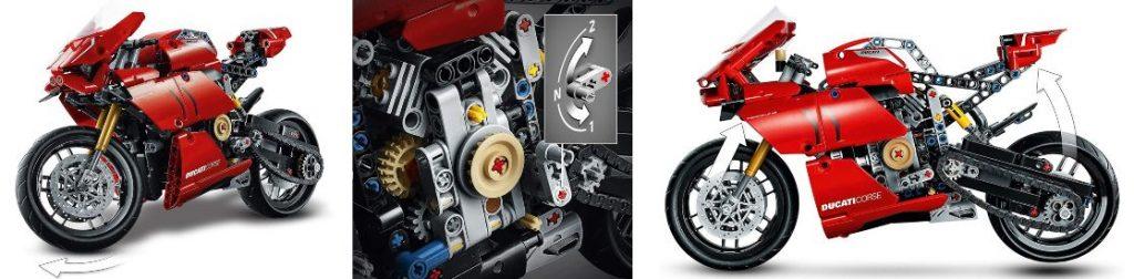 moto LEGO Ducati Panigale V4 R