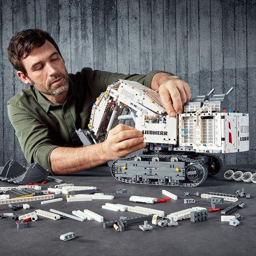 Excavadora LEGO Technic Liebherr R 9800 (42100)