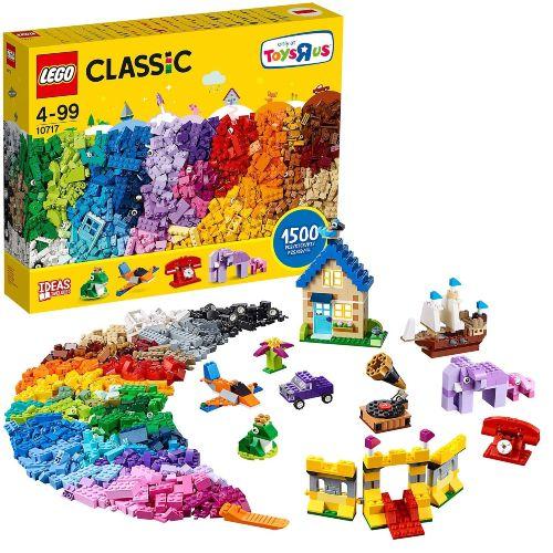 set LEGO Classic 10717 Ladrillos, ladrillos, ladrillos