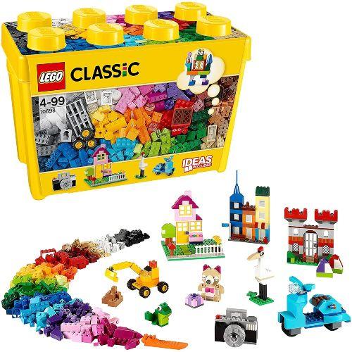 set lego classic 10698 caja de ladrillos creativos grandes