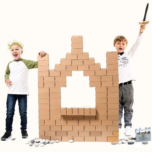 juegos de bloques de construccion gigantes para niños